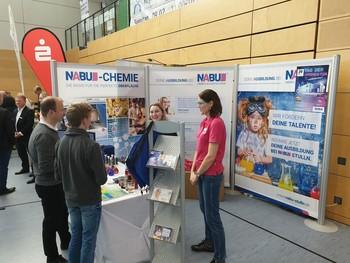Die NABU präsentiert sich erneut auf der Bildungsmesse in Maxhütte