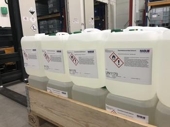 Die NABU produziert in der Corona-Krise Desinfektionsmittel