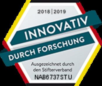 """NABU erhält erneut das Siegel """"Innovativ durch Forschung"""" des Stifterverbands"""