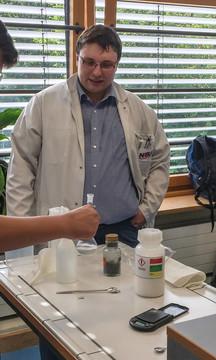 Chemie in der Praxis: Gemeinsames Projekt von KMK-Realschule Schwandorf und NABU