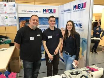 NABU wirbt auf der Bildungsmesse um Nachwuchs